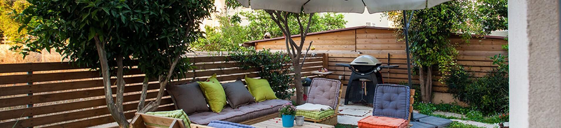 חיפויים יצירתיים לגינה כתחליף למדשאה