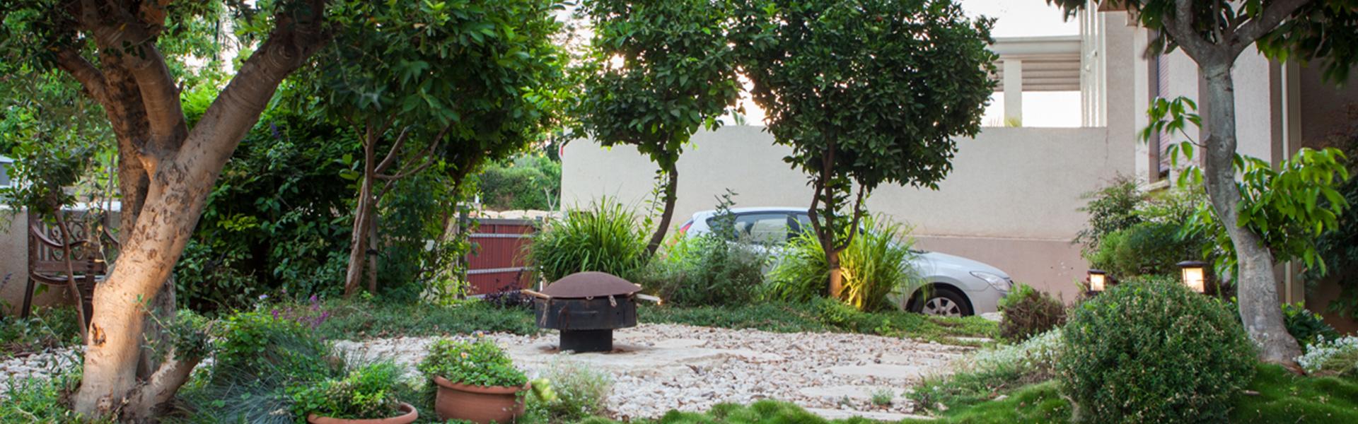 פינות מדורה בגינה