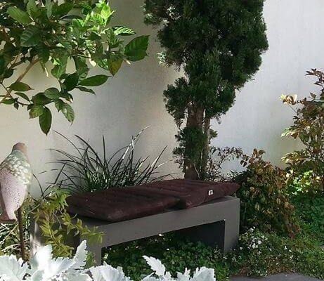 אווירה ואופי בגינה אטרקטיביים